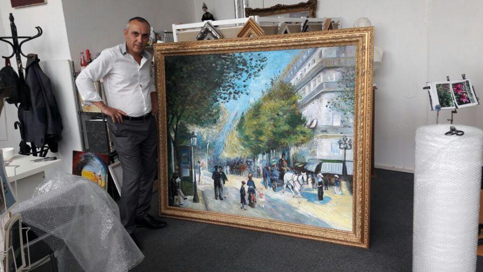 Öl auf Leinwand, Leipziger Künstler