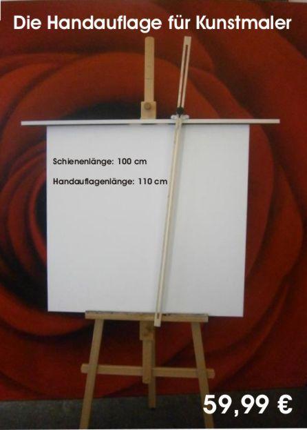 Handauflage für Kunstmaler für faine Deteils malereien oder zeichnungen, erhältlich unter 01623199318 www.eduart24.de
